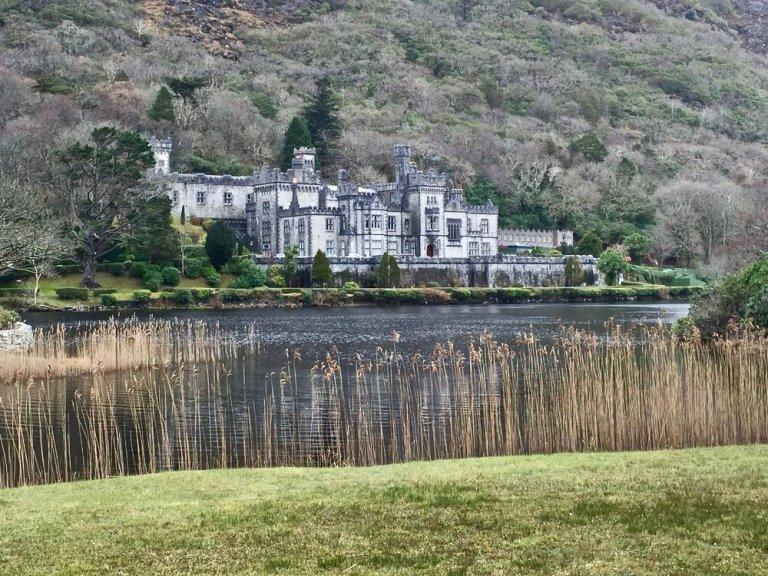 The beautiful setting of Kylemore Abbey