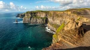 The gorgeous Cliffs of Moher