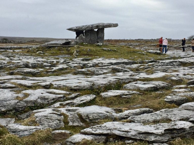 Unusual rock formations and prehistoric landmarks are hallmarks of the Burren