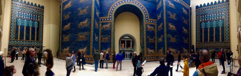The Ishtar Gate at the Pergamon Museum in Berlin