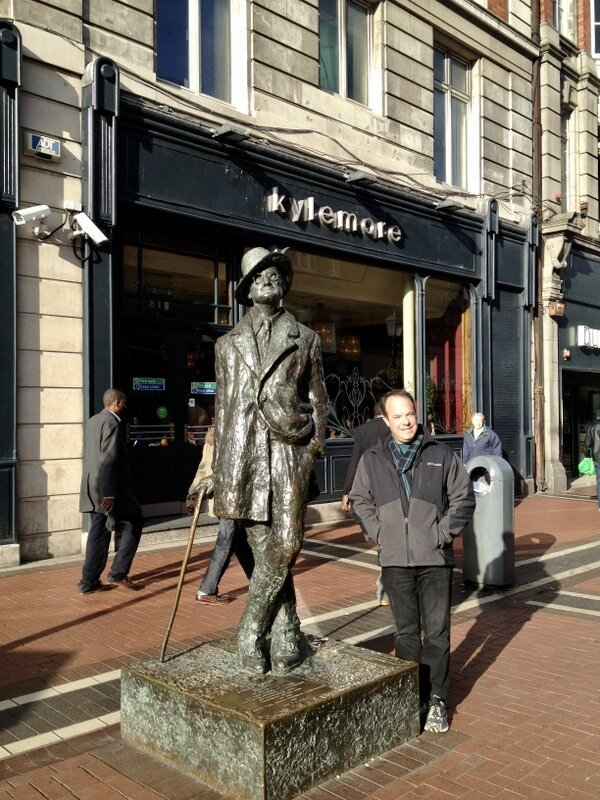 Spending some quality time with James Joyce in Dublin