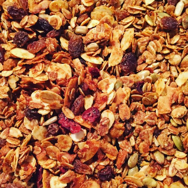 Homemade granola is the best!
