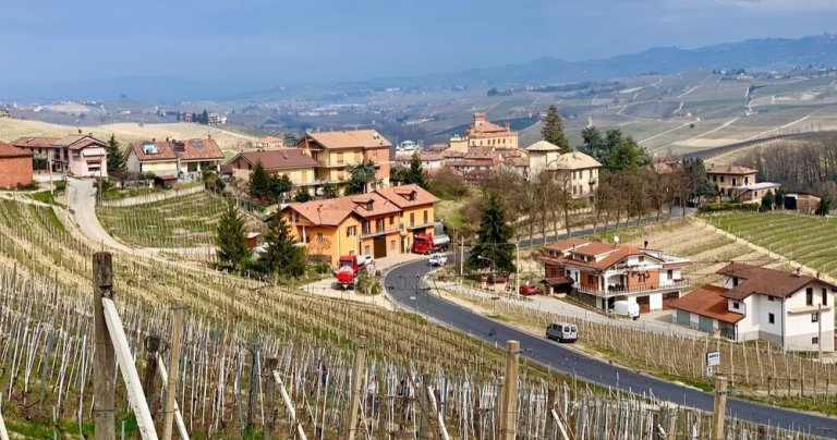 The village of Barolo, our home during our visit