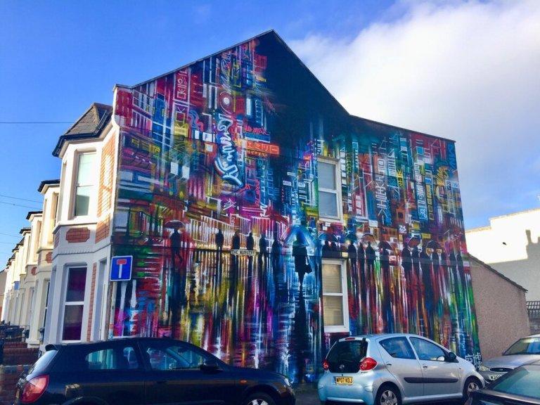 The Nursery, Bristol, England, Upfest 2018