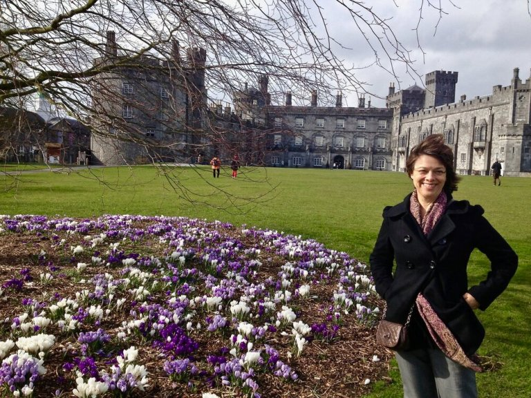On the grounds of Kilkenny Castle