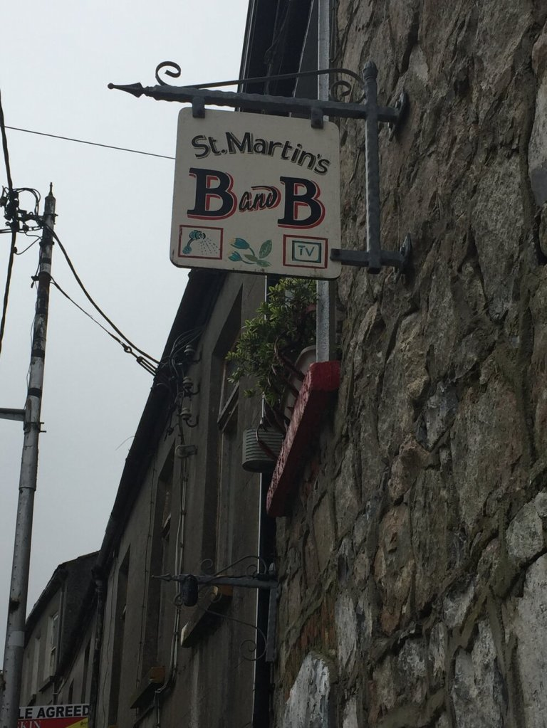 This B&B is just a block away from Galway's City Center