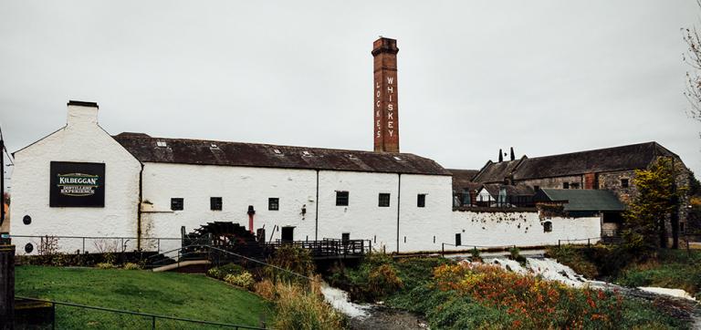 The historic Kilbeggan Distillery