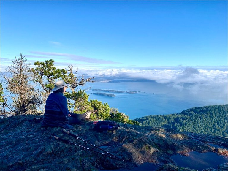 Contemplating the meaning of it all on Orcas Island