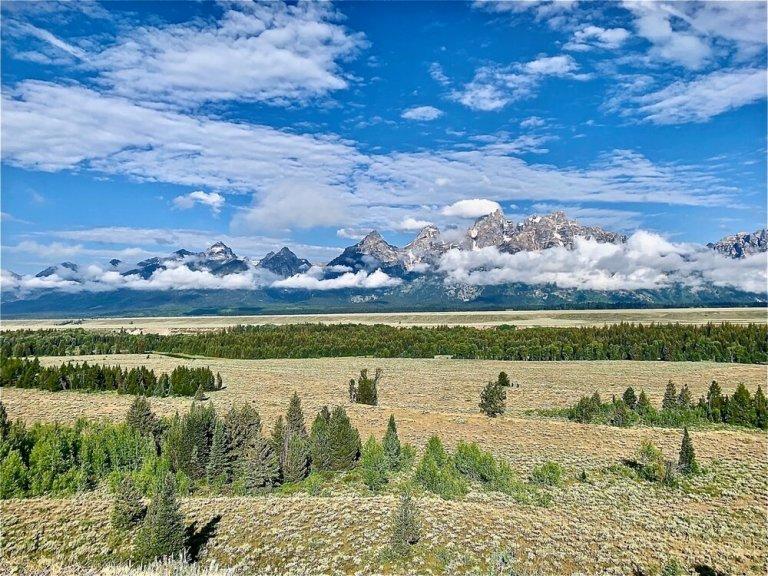Stunning view at Grand Teton National Park
