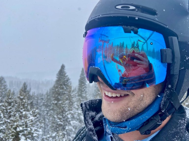 David is enjoying working and skiing at Crested Butte