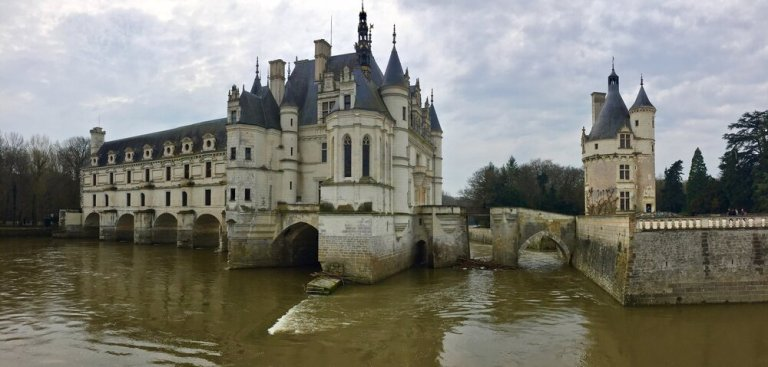 Chateau de Chenonceau in the Loire Valley, France
