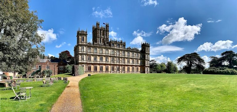 A recent visit to Highclere Castle, aka Downton Abbey