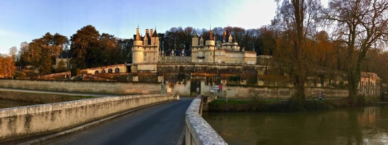 Le Chateau d'Usse in the Loire Valley, France