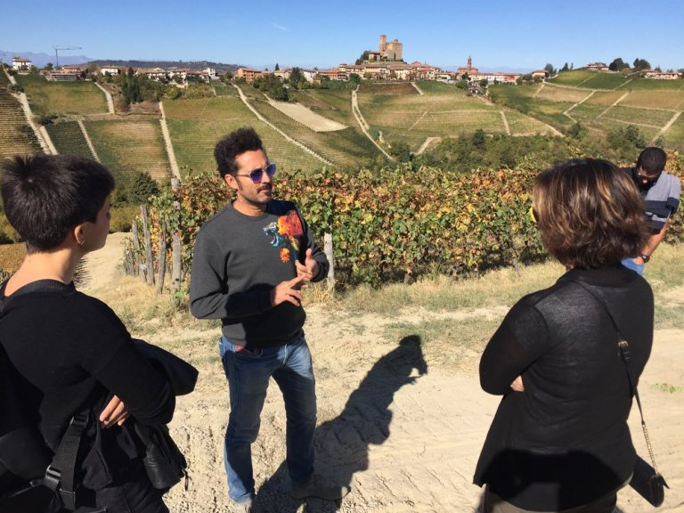 Enrico Rivetto is passionate about the biodiversity of his lovely vineyard