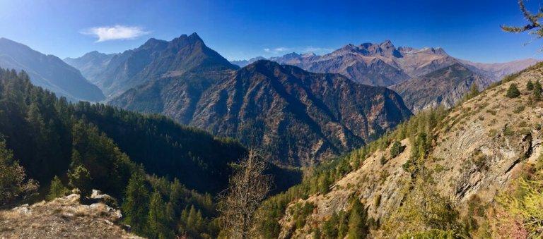 Hiking the Italian Alps in the Piedmont region