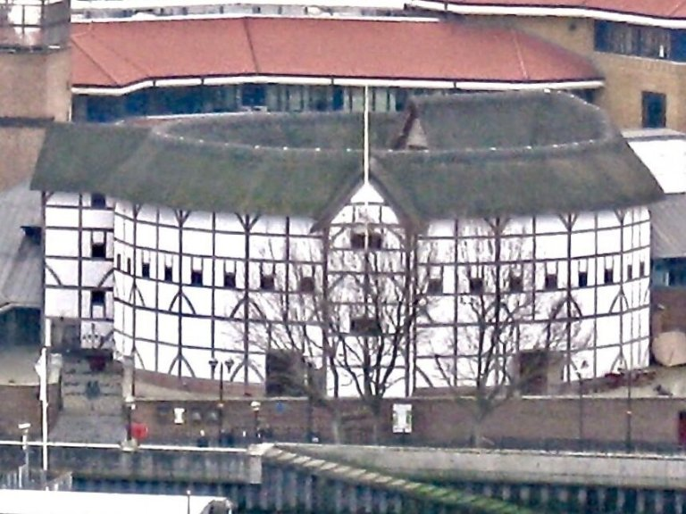 The Globe Theater on the Thames